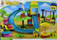 """Конструктор Blocks """"Веселая детская площадка"""""""