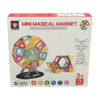 Магнитный конструктор 76 дет. Mini Magical Magnet 719