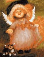 "Картина по номерам ""Ангел"""