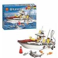 Конструктор 10646 Urban 160 дет Рыболовный катер