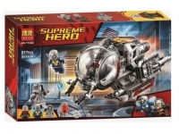 Конструктор 11022 Супергерои 217 дет. Исследователи Квантового Мира