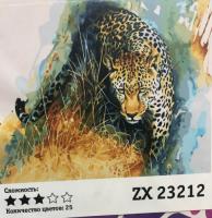 "Картина по номерам ""Леопард"" ZX 23212"