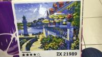 """Картина по номерам """"Дом с маяком"""" ZX 21989"""