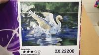 "Картина по номерам ""Лебедь"" ZX 22200"
