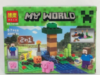 Конструктор MY WORLD 10188 Маленькая ферма