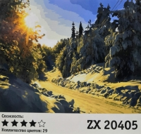Картина по номерам ZX 20405