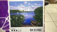 "Картина по номерам ""Река"" ZX 21783"