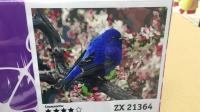 "Картина по номерам ""Синяя птичка"" ZX 21364"