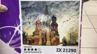 """Картина по номерам """"Собор Василия Блаженного"""" ZX 21290"""