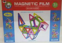 Магнитный Конструктор 48дет. Magnetic Film 848A