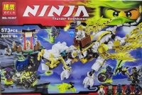 Конструктор 10397 Ninja Белый дракон
