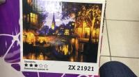 """Картина по номерам """"Средневековый город"""" ZX 21921"""