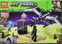 Конструктор 11169 Minecraft Эндер дракон
