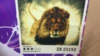 "Картина по номерам ""Лев"" ZX 23152"