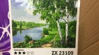 """Картина по номерам """"Березки"""" ZX 23109"""