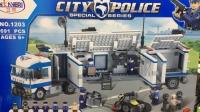 Конструктор 1203 Полицейский грузовик