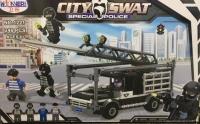 Конструктор 1221 CITY SWAT/Городской спецназ